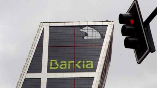 Uno de los edificios emblemáticos de Bankia.