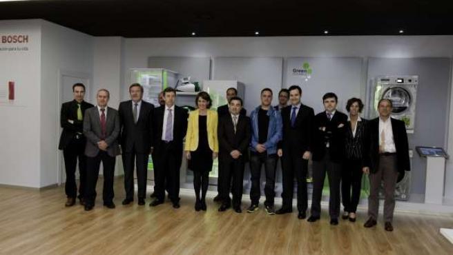 Barcina, Con Representantes Del Grupo BSH Electrodomésticos.