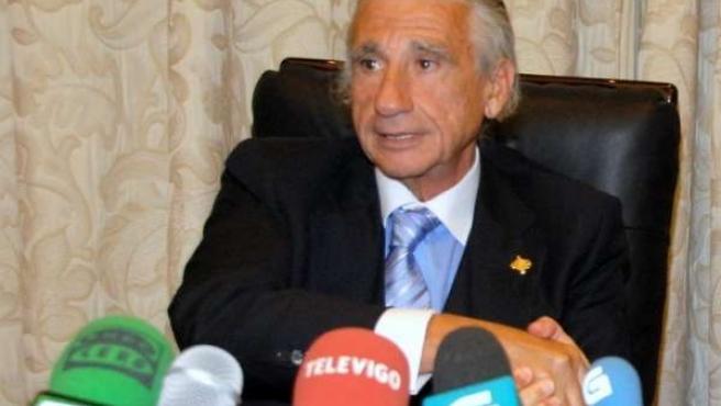 El Presidente De La CEP, José Manuel Fernández Alvariño