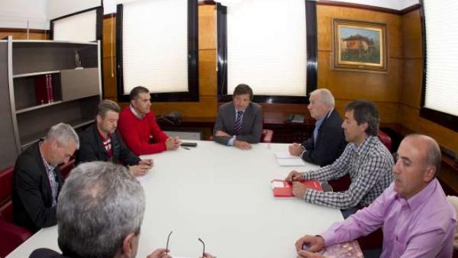 Reunión Del Gobierno De Asturias Con Sindicatos Mineros