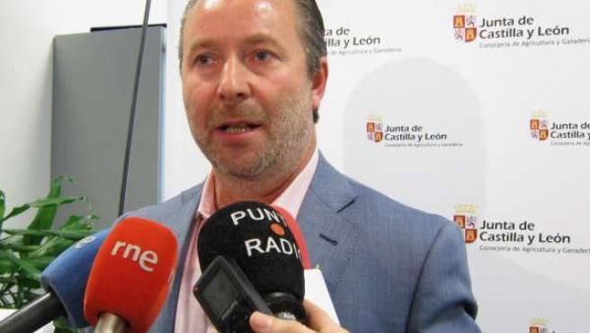 Donaciano Dujo, presidente de Asaja en Castilla y León.