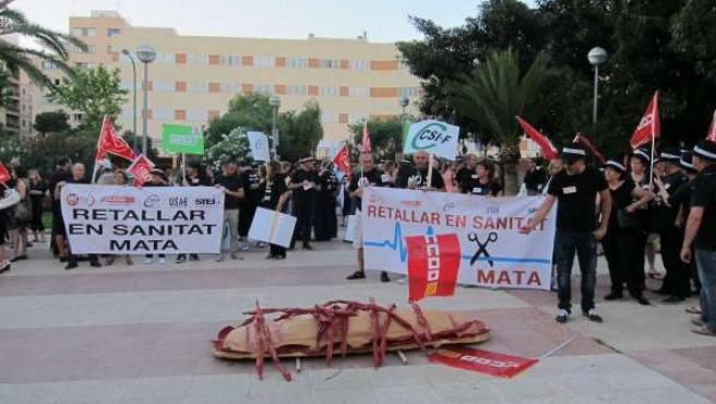 Manifestación Contra Los Recortes En Sanidad