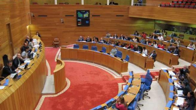 Pleno Del Parlamento De Galicia