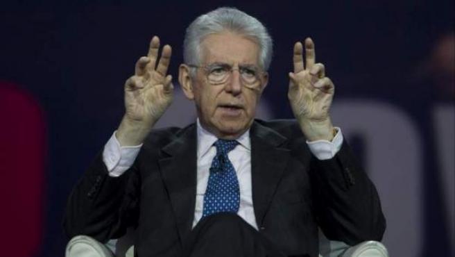 Imagen de archivo del primer ministro italiano, Mario Monti.