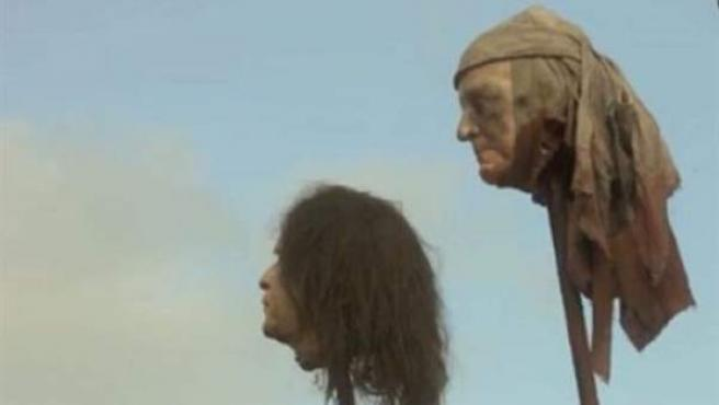 La HBO pide perdón por exhibir la cabeza empalada de George Bush en 'Juego  de Tronos'