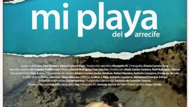 Cartel De 'Mi Playa Del Arrecife'