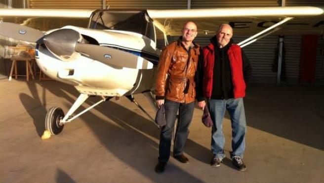 Carlos Gosálbez y Pablo Peláezvolarán desde Robledillo (Guadalajara) a las regiones árticas.