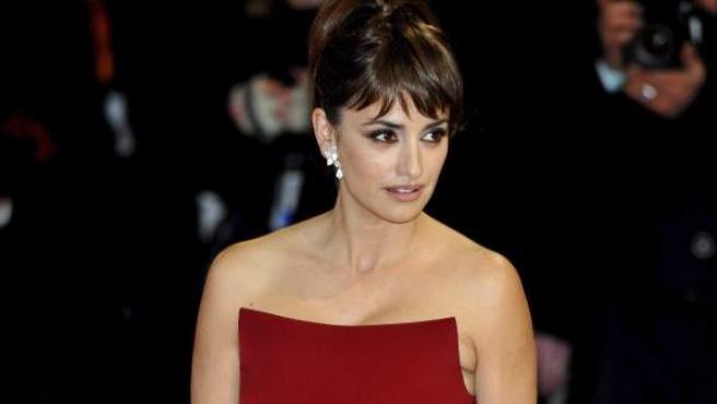 La actriz española Penélope Cruz.