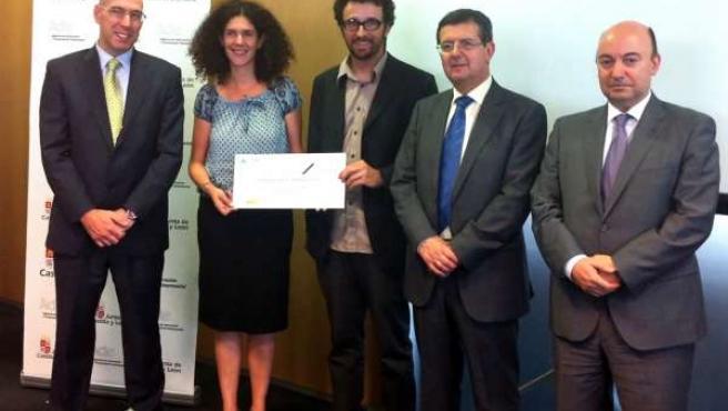 Entrega Del Premio Emprendedor XXI A La Empresa Comunitats