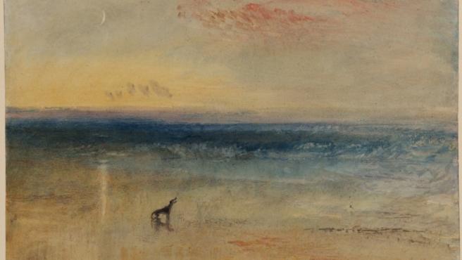 Acuarela y aguada de J.M.W. Turner