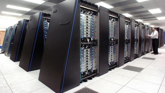 Resultado de imagen de supercomputadora IBM