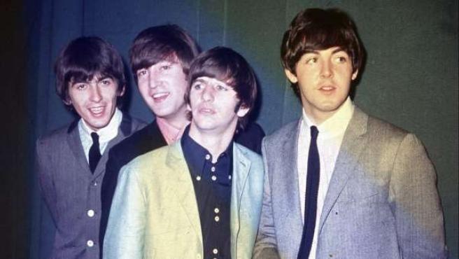 Fotografía de 1964 de Los Beatles.