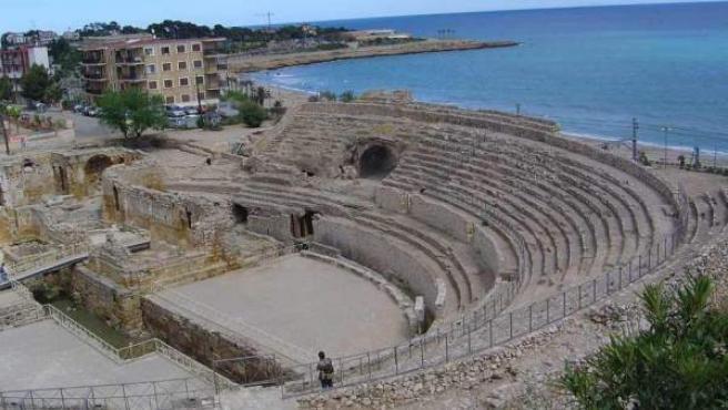 El Anfiteatro romano, el monumento más visitado de Tarragona.