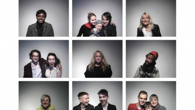 Algunas de las fotos del proyecto de Yoko Ono