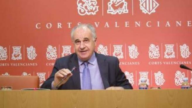 El portavoz del PP en Les Corts Valencianes, Rafael Blasco.