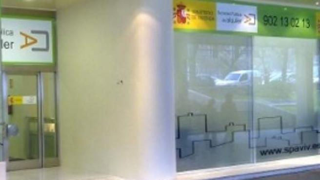 Oficinas en el madrileño Paseo de la Castellana de la Sociedad Pública del Alquiler.