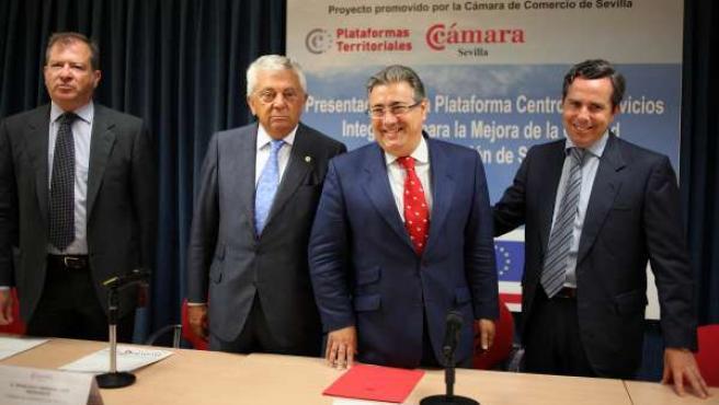 El Alcalde De Sevilla, Juan Ignacio Zoido, Durante La Presentación