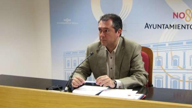 El Portavoz Del PSOE En El Ayuntamiento, Juan Espadas