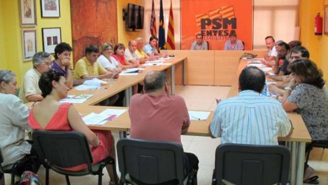 Reunión De La Nueva Ejecutiva Del PSM-EN
