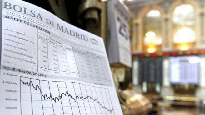 Imagen de la Bolsa de Madrid este lunes 25 de junio, en que ha sufrido la segunda peor caída del año.