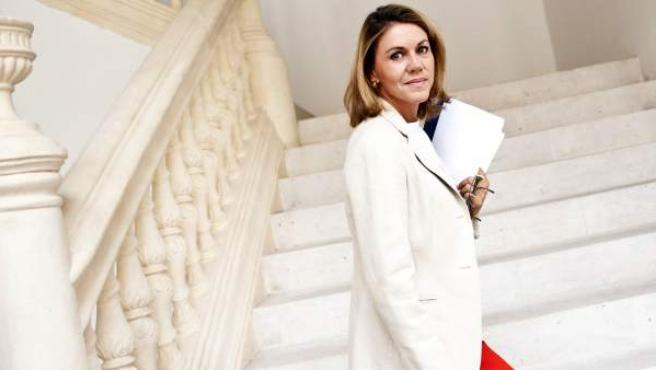 La presidenta de la Junta de Castilla-La Mancha, María Dolores Cospedal.