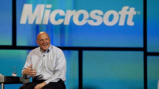 Steve Ballmer, director ejecutivo de Microsoft.
