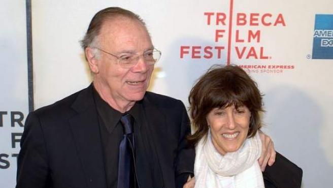 Nora Ephron y su marido, el autor Nicholas Pileggi, en una imagen de 2010 en el Festival de Cine de Tribeca.