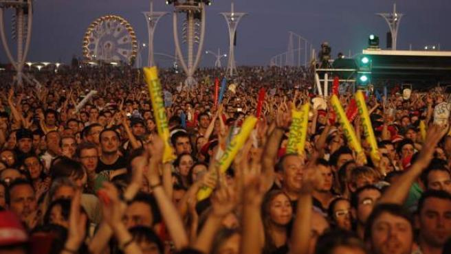 Público de una edición anterior de Rock in Rio.