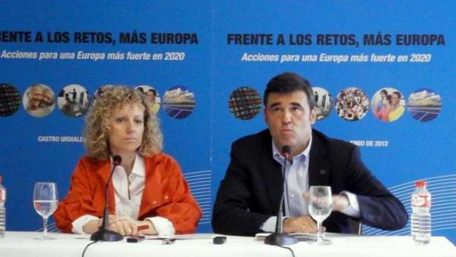 Eva Díaz Tezanos Y Ricardo Cortés