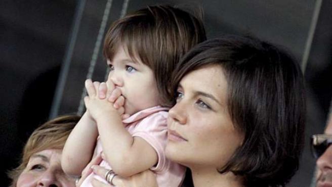 Katie Holmes y Suri, una de las parejas de madre e hija más mediática.