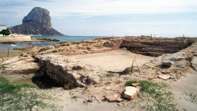 Imagen de la costa de Calpe (Alicante).