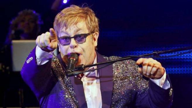 Elton John en el festival de música Ibiza 123.