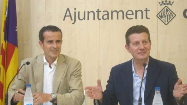 Ignacio Jiménez y Sebastià Sansó