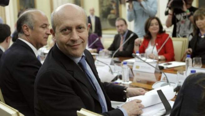 El ministro de Educación, José Ignacio Wert.