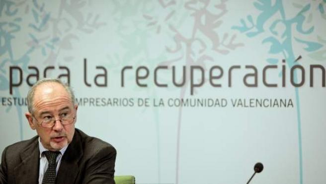 El expresidente de Bankia, Rodrigo Rato..