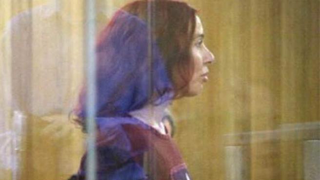 La etarra Inés del Río en una imagen de archivo durante un juicio en el año 2006.