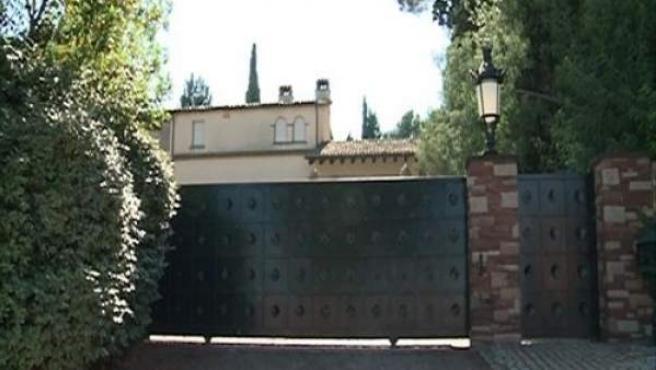 La casa de Félix Millet, en Ametlla del Vallès (Barcelona).