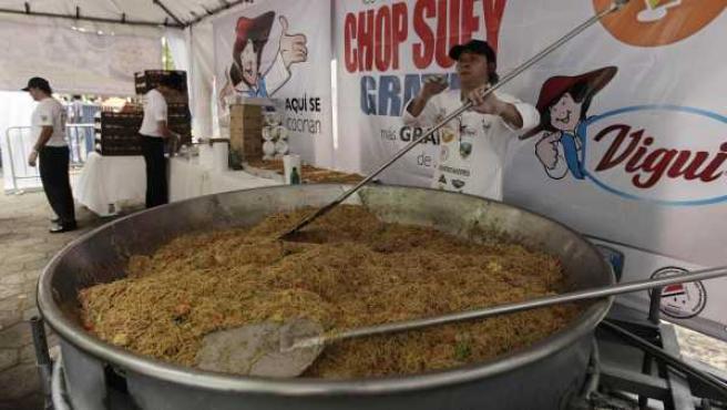 El 'Chop Suey' más grande de América, en Costa Rica.