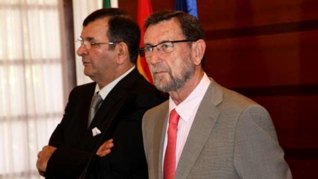 El presidente del Parlamento andaluz, Manuel Gracia