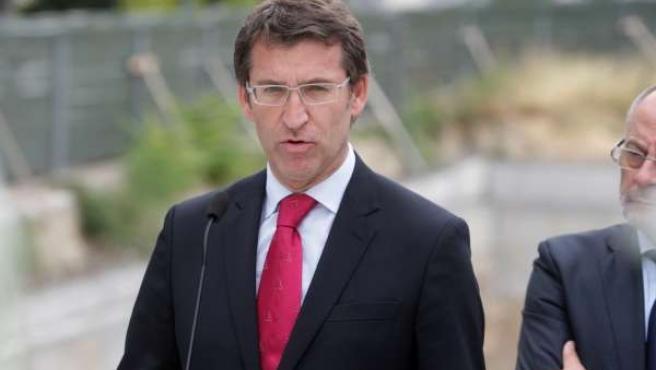 Intervención de Feijóo en Ourense