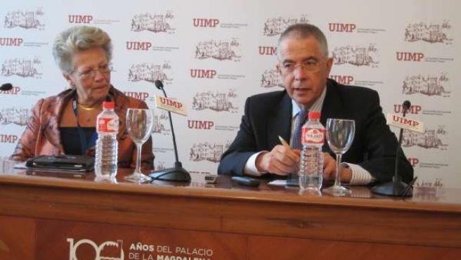 María Helena Nazaré y Francisco Michavila