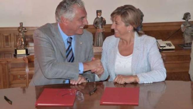 Acuerdo en materia de protección civil entre el Gobierno de Aragón y la DPT