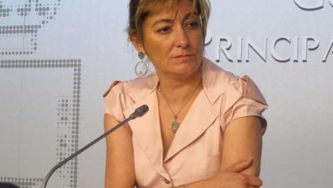 La Consejera De Bienestar Social, Esther Díaz
