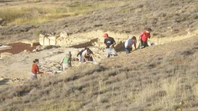 Campaña De Excavaciones En El Yacimiento De Los Bañales En Uncastillo