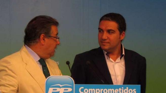 Zoido Y Bendodo, Durante Rueda De Prensa