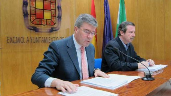 Fernández de Moya junto a García Anguita