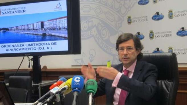 Antonio Gómez, Portavoz Del Equipo De Gobierno De Santander