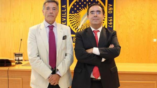 Toma de posesión del nuevo gerente de la UPO, Fernando Contreras Ibáñez