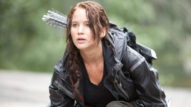 Jennifer Lawrence, protagonista de 'Los juegos del hambre'.