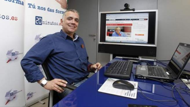 El presentador Juan Ramón Lucas.